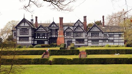 Bramall Hall, in Bramall, is a popular visitor attraction due to its pleasing appearance and attract
