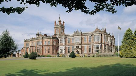 Crewe Hall hotel is a magnificent example of early 17th century and style and Victorian magnificence