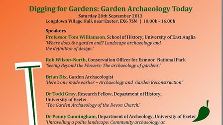 The Devon Garden Trust Autumn conference