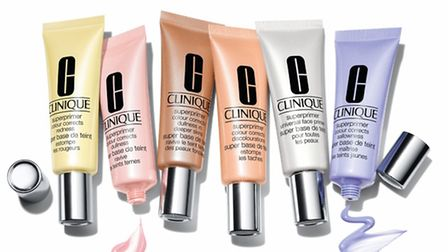 This month Clinique introduces new SUPERPRIMERS, £20, a collection of lightweight face primers that