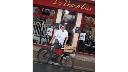 Eric Lepine, chef and joint owner of Le Beaujolais, Cirencester