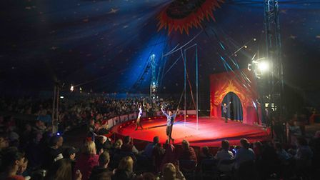 Another full house in the Circus Starr big top