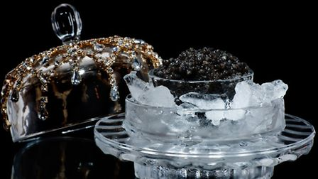 First World Problem: How does one keep caviar at the correct temperature?