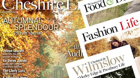 Cheshire Life October 2013
