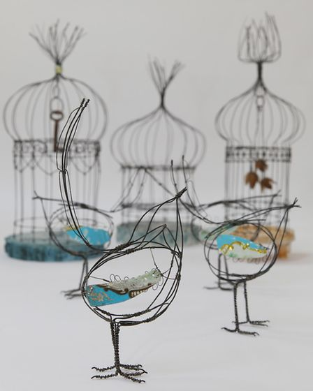 (Foreground) Birds with Tin Wings (Background) The Lost Key, Enchanted Forest and Quite Contrary