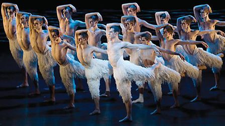 Swan Lake in Manchester - photo by Matthew Bourne