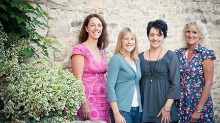 The Christmas Bonanza is organised by four local business women