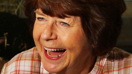 Pam Ayres at Adam Henson's Cotswold Farm Park