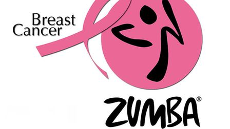 The Zumba 'Party in Pink' initiative is happening nationally (and globally) throughout October (Brea