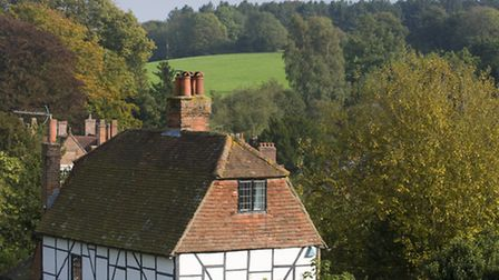 Glorious views and pretty houses