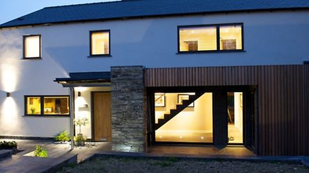 The Cooper's new home in Aberdovey