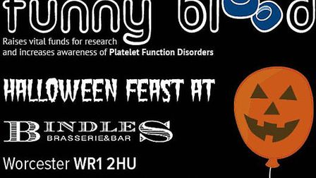 Sink your fangs into something tasty at Funny Blood's Hallowe'en Feast