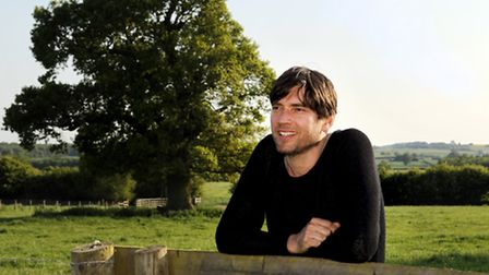 Alex James at the launch of the Big Feastival at his farm in Kingham