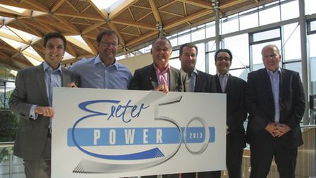The launch of the Power 50 campaign