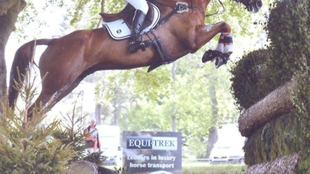 Emily Llewelyn is one of a number of Surrey stars of the equestrian world