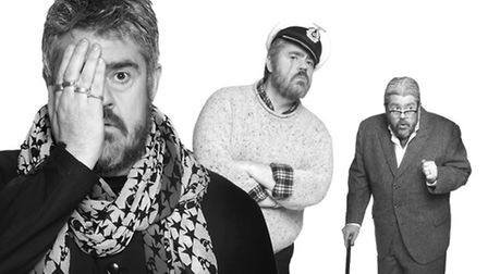 Phill Jupitus depicts three distinct characters in his new show