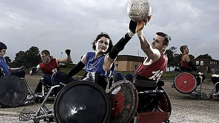 Try out wheelchair rugby with GBWR