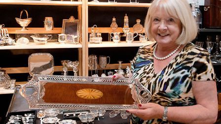 Silverware at Antiques for Everyone