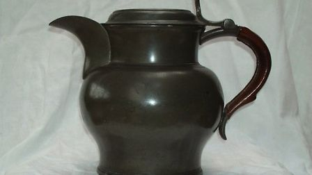 The nineteenth century jug used by Charles Dickens in the preparation of his celebrated gin punch is