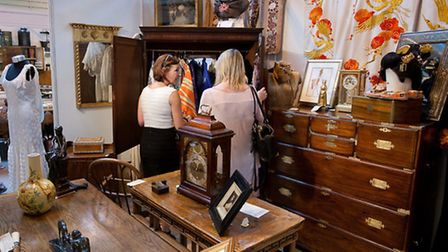 Shopping at Antiques for Everyone