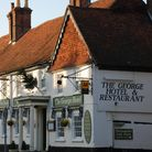 Fancy a pub lunch? The George offers some great homecooked dishes