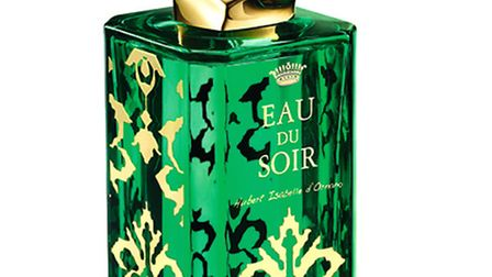 Sisley present its annual limited edition bottle of its EAU DU SOIR, £178, featuring a unique, bold