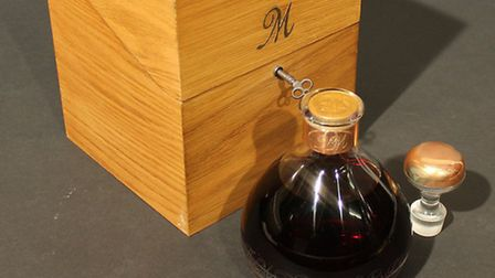 A decanter of Macallan's Millennium carries an estimate of £3,000 to £5,000