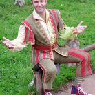 Panto star Jonathan Wilkes as Muggles at the Regent Theatre, Stoke-on-Trent