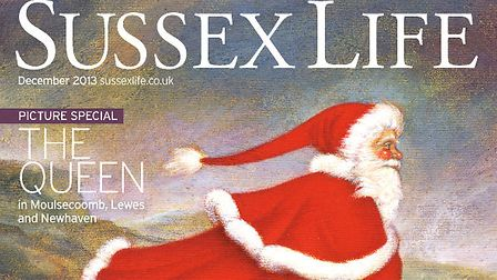 Sussex Life cover - December 2013