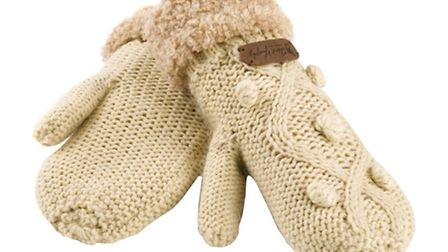 Carrickbed Knitted Mittens £15.00