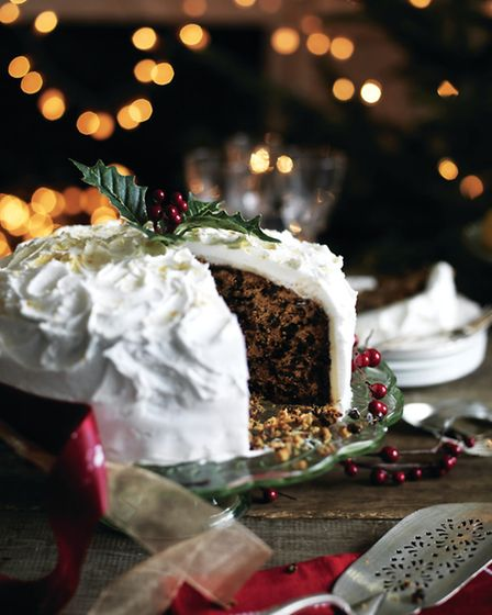 Christmas cake, from Traditional Aga Christmas by Louise Walker