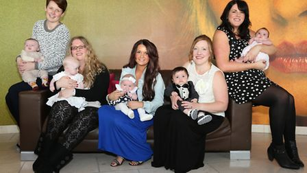 Amy Shone and Freddie Timms, Lisa Holloway and Lily Holloway, Rebecca Nield and Alissa Jones, Victor