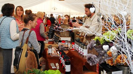 Hundreds of visitors at The Christmas Fair