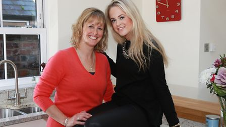Penny English with daughter Beth