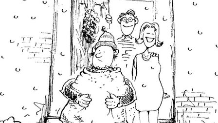 Gooding - an ancient and mostly forgotten Surrey Christmas tradition