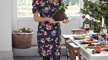 The country look for a special day. Merlin floral dress £69.95 Joules