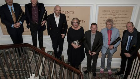 New RDIs and Hon RDIs (Tony Meeuwissen is second from Left) at the Royal Society of Arts