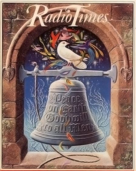 Radio Times cover illustration by Tony Meeuwissen, Christmas 1981