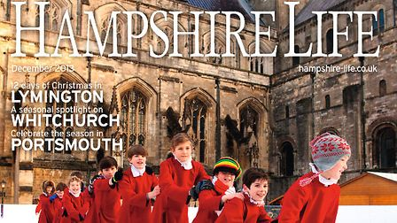 Hampshire Life December 2013 front cover