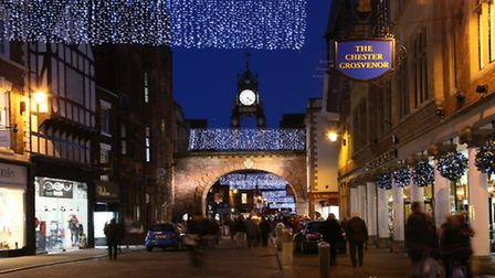 Eastgate Street and the clock