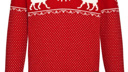 Franklin and Marshall Christmas sweater, £135, www.johnlewis.com