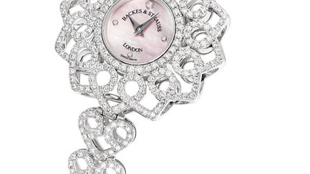 Backes and Strauss Victoria Princess Watch with mother of pearl in partnership with the English Nati