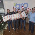 Chris Whitehead (Exeter Chiefs), Dave Ewers (Exeter Chiefs), sailor Emma Phillips, Tom James (Exeter