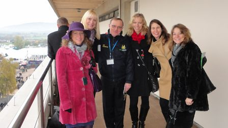 Last seen with commentating legend Jim Magrath… have you seen these ladies, especially the one on th