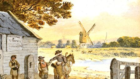The Turnpike Gate at Worthing. CREDIT - Worthing Museum and Art Gallery