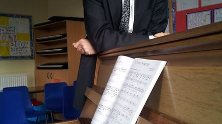 At the helm - The Prebendal's new Director of Music, Nick Carpenter