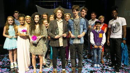 Winners 2013 with the judges