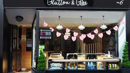 The inviting Glutton & Glee in Guildford - a welcome escape from the usual chains
