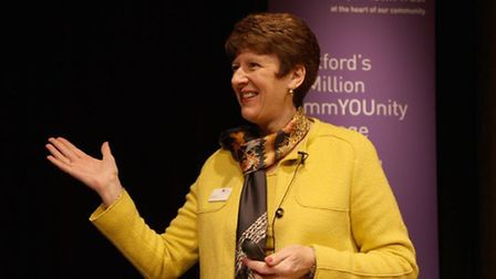 Stratford Town Trust's Chief Executive Helen Munro
