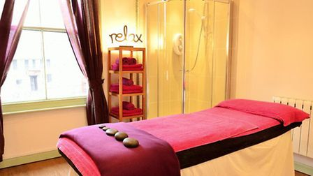 One of Heavenly's treatment rooms